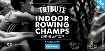 Tribute Indoor Rowing Championships 23rd February 2019