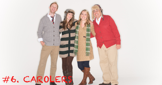 Christmas Carolers make the perfect addition to any Christmas event because they bring the holiday spirit everywhere they go. Next stop- your party! Photo Credit: Party Singers | New York (The Mistletones) - http://www.gigsalad.com/party_singers_new_york_city