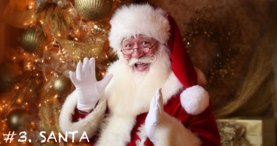 Okay, we all know that the real Santa isn't available during the busy holiday season. Luckily, we've got the next best thing! With hundreds of Santa Impersonators, you're sure to find the perfect jolly man in red for your party.