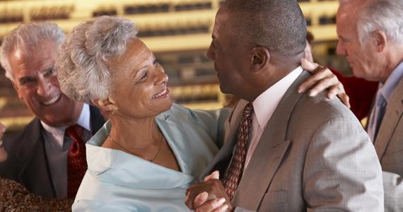 couple celebrating their 50th wedding anniversary