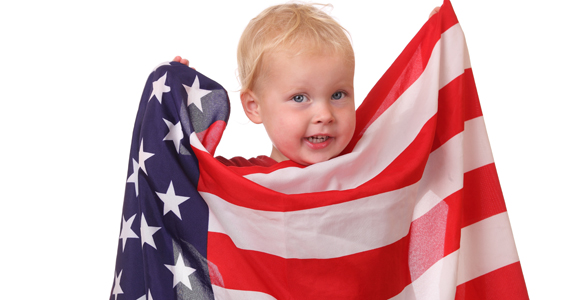 kid-friendly 4th of july party