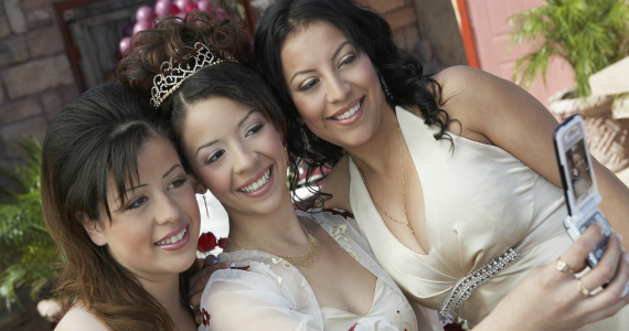 quinceanera party girls