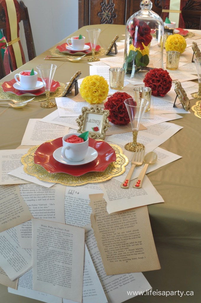 15 Enchanting Ideas For A Beauty And The Beast Party The Gigsalad Community