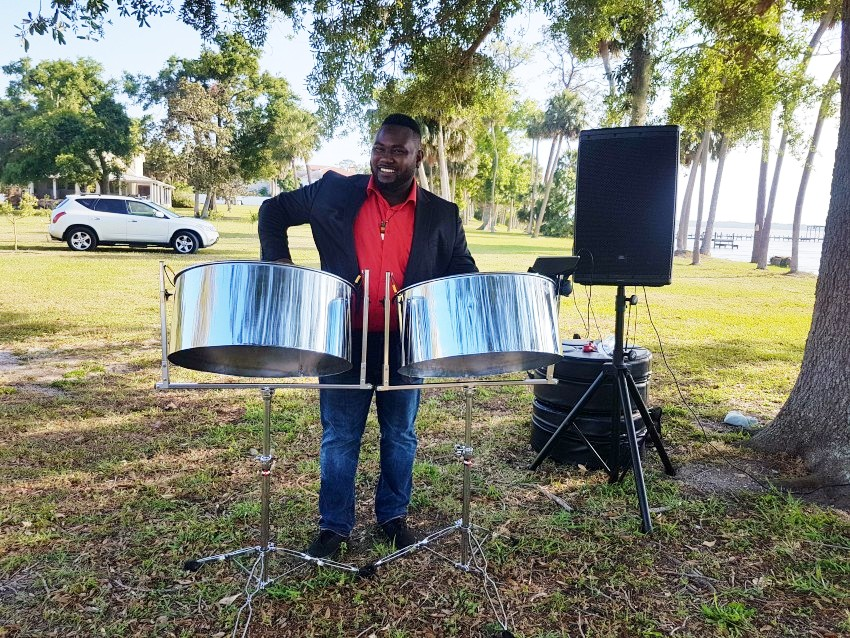 Outdoor music performance