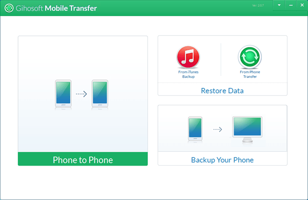 Gihosoft Mobile Phone Transfer Guide