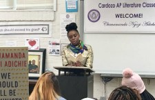 OUT & ABOUT: Chimamanda Ngozi Adichie Visited Cardozo Senior High School's AP Lit Class