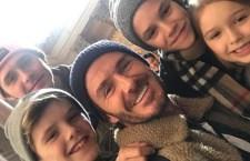 SNAPSHOTS: David Beckham Shows Off Cute Family Photo