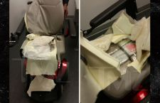 People are so Bold! Cocaine Filled Wheelchair Caught at JFK