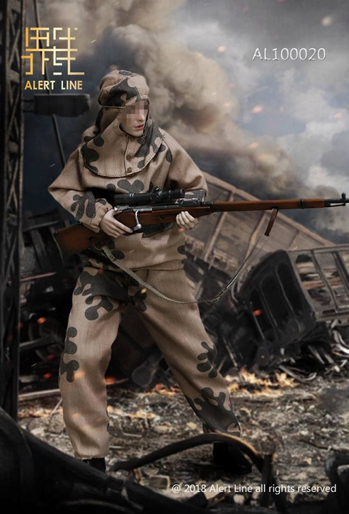 Warface Female Sniper Game