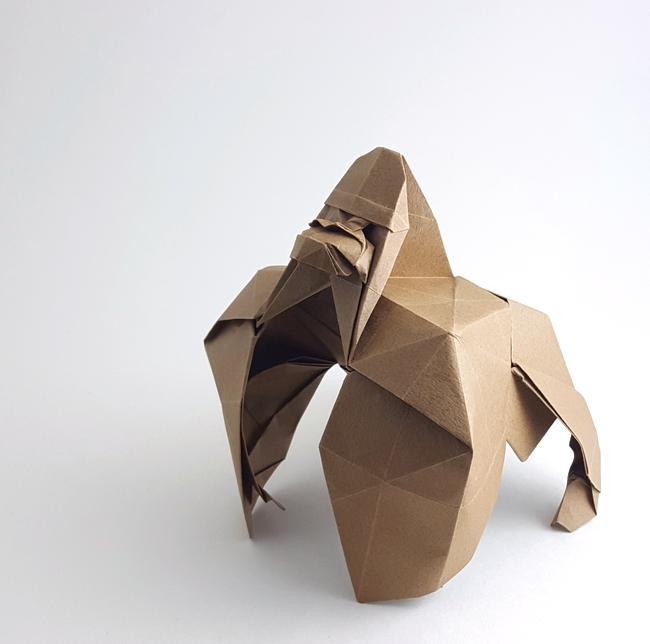 Gorilla Makoto Yamaguchi Gilad S Origami Page