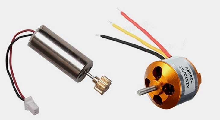 Perbedaan Brushed dan Brushless Motor Pada Hobi RC