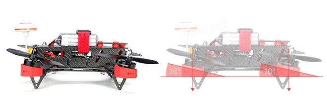 Fitur Eachine Falcon 250 FPV Quadcopter Racer Drone High Speed