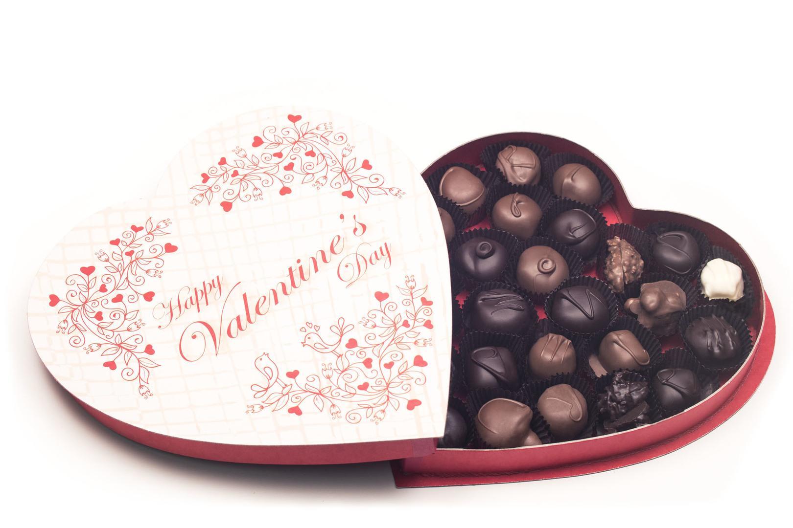 Valentine Heart Vines Chocolate Candy