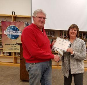 Renee Pierce captured Best Evaluator and Vicki Treciak Spirit Awards