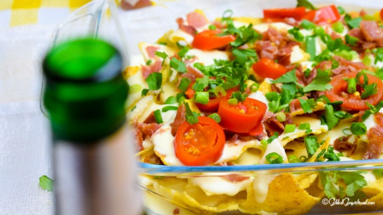 Bacon Cheese Nachos