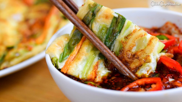 Seafood Spring Onion Pancake 10 Essential Korean Dishes to Impress Your Guests