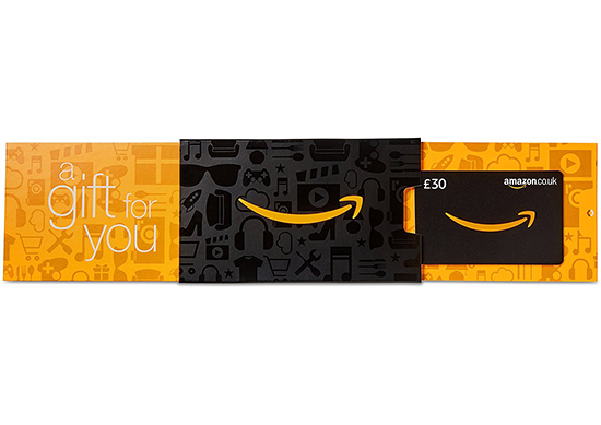 Amazon.co.uk Gift Card - In a Slider - FREE One-Day Delivery