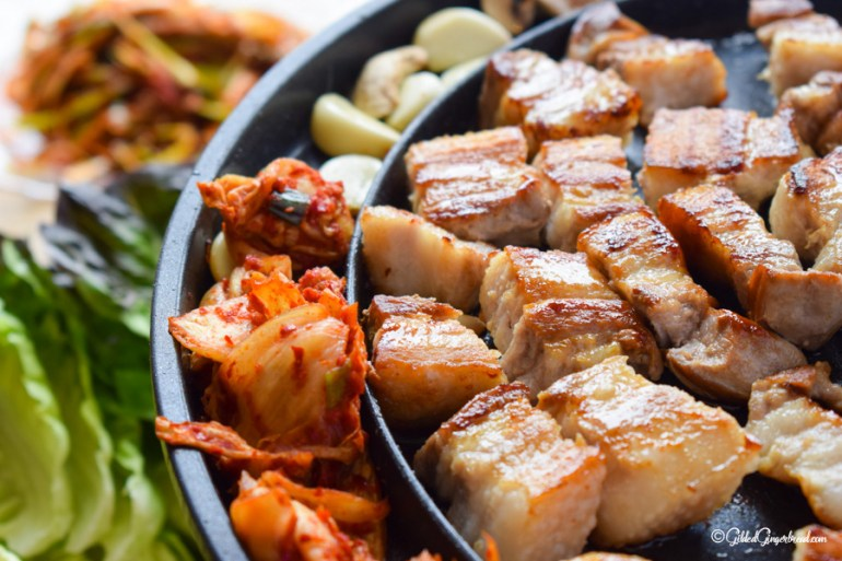 Korean BBQ Samgyeopsal 삼겹살