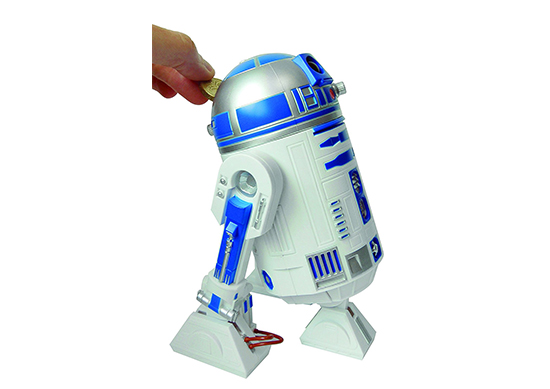 Star Wars R2-D2 Talking Money Box with Sound