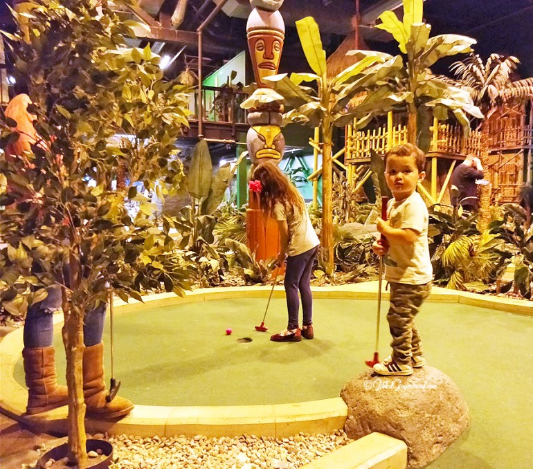 Paradise Island Golf Trafford Centre Gilded Gingerbread
