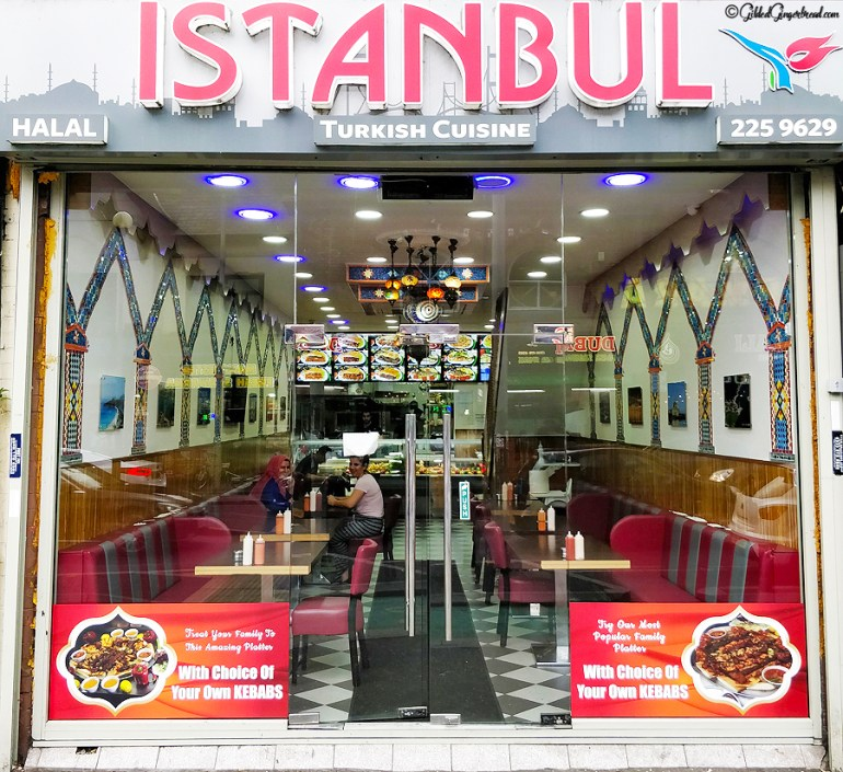 Istanbul Restaurant Review Manchester Curry Mile Gilded Gingerbread