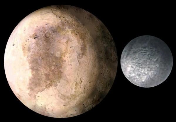 NASA Released Stunning Photos of Plutos Moon Charon