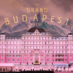 This Wes Anderson film has pink all over it