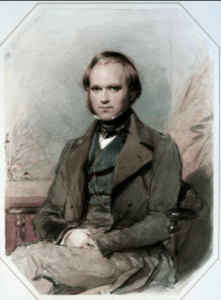 Darwin around the age he would have met the kissing bug