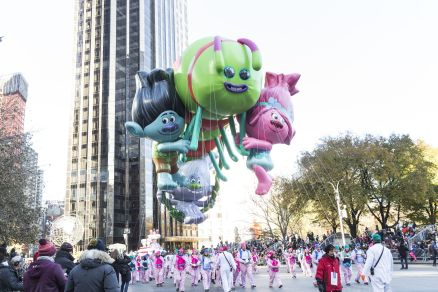 2017 Macy's Thanksgiving Day Parade in NYC (Photo: Lev Radin)