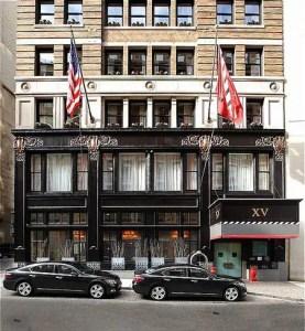 XV Beacon belongs on every list of best boutique hotels.