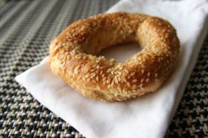 Smaller, denser, sweeter, better. It's the Montreal Bagel.