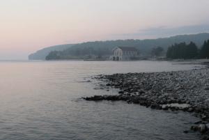 Sunset on Rock Island