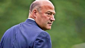 Departed NEC chief Gary Cohn.