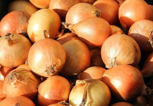 Onions - cheap and plentiful