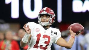 Expect Alabama QB Tua Tagovailoa to be Oklahoma's Daddy all evening long.