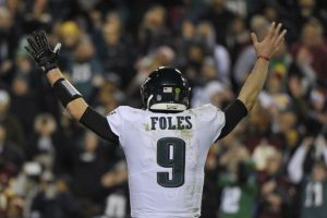 Nick Foles can't turn his back on Chicago's defense this weekend.