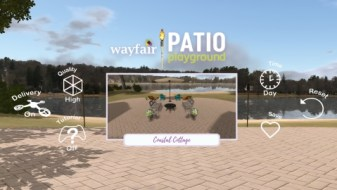 Wayfair, you have just what I need, and I can see it in VR.