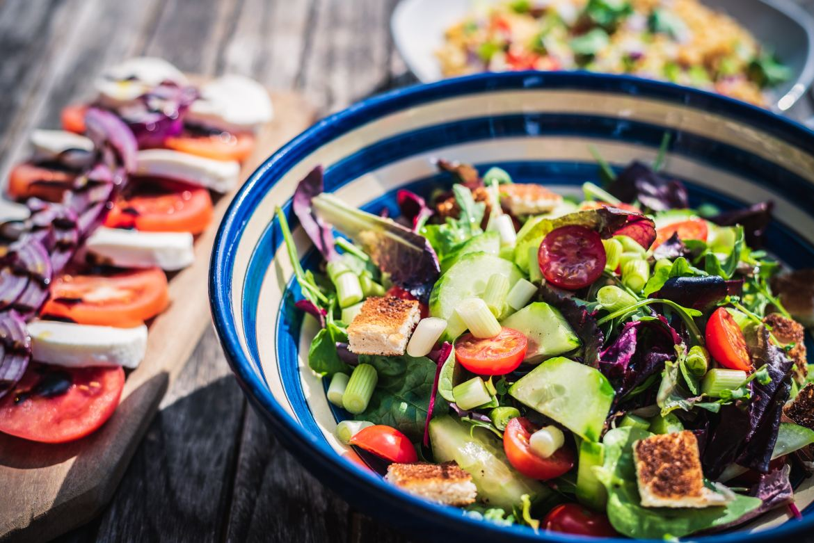 Want to be Happy? Start with Salad