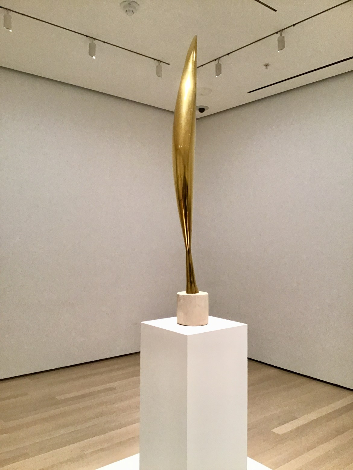 Constantin Brancusi's Sculpture Exhibition at the Museum of Modern Art in New York City (Photo: Ceara Rossetti/Gildshire)