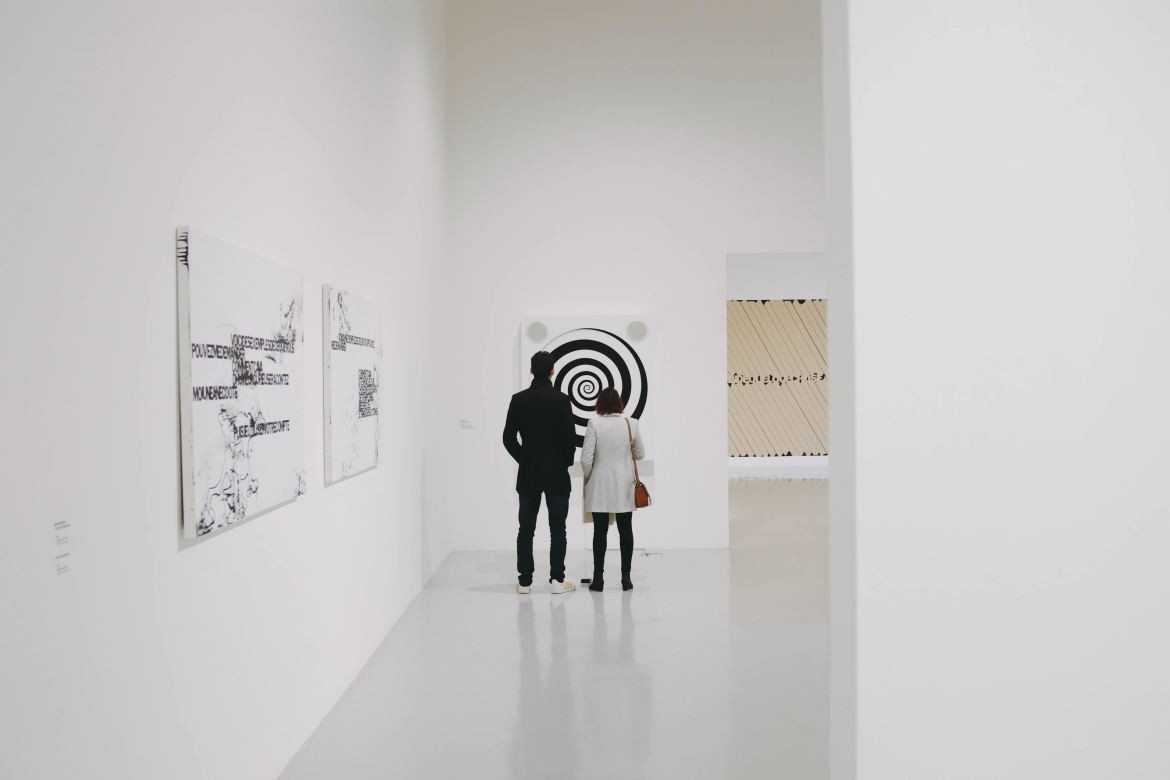 Contemporary art encompasses all art created at the end of modern art (the 1970's) until the present day.