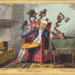 The Headache from Cruikshank - dated 1819
