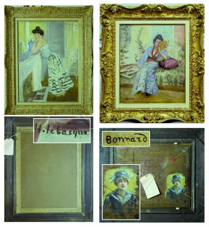 Faux d'après Lebasque et Bonnard