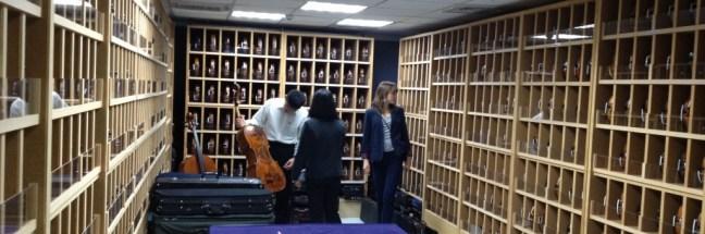 Violins Vault Chi Mei instruments
