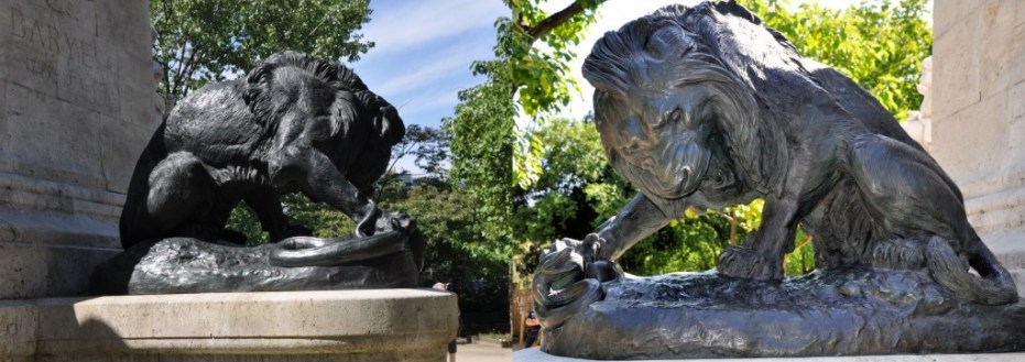 Lion & Snake - Barye's Monument 2014 - Chi Mei Foundation for Paris