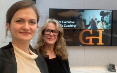 GH EVP and Behaviorist Clara Mattucci and Senior Partner Bridget Paverd lead another successful CEO media coaching workshop for a large Washington, D.C., corporation.