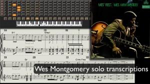 Wes Montgomery - Bud's Beaux Art - guitar transcription - Gilles Rea