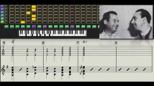 Django Reinhardt - Out Of Nowhere - Guitar transcription - Gilles Rea