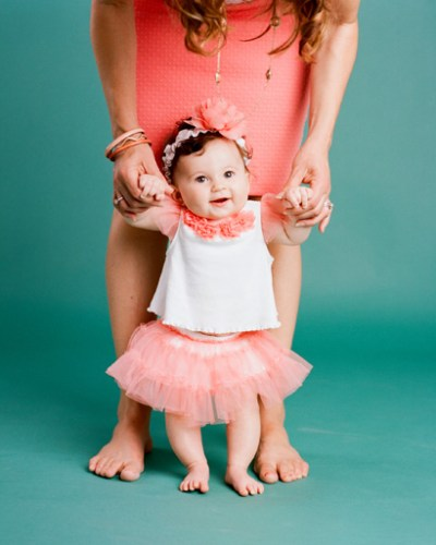 Charlotte Eileen is 6 months by Myrtle Beach Photographer Gillian Claire