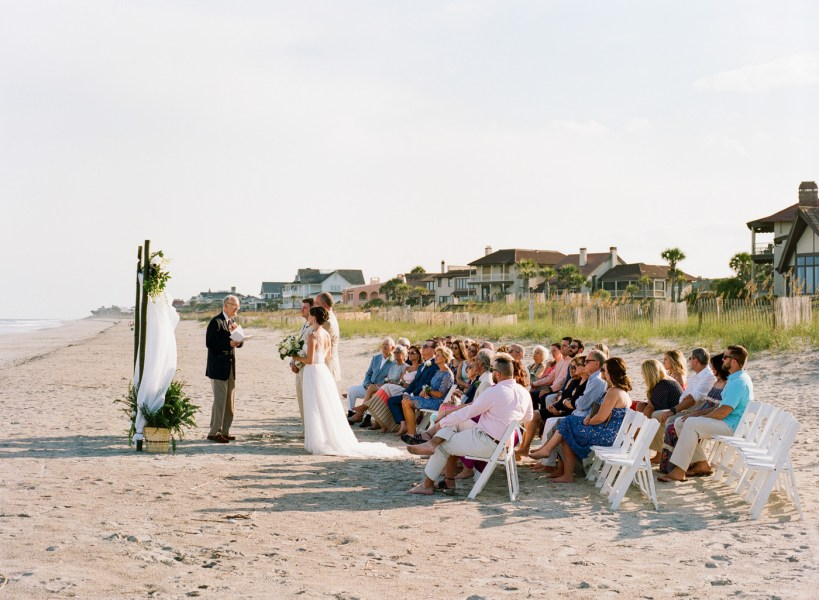 Debordieu wedding on the beach (32)