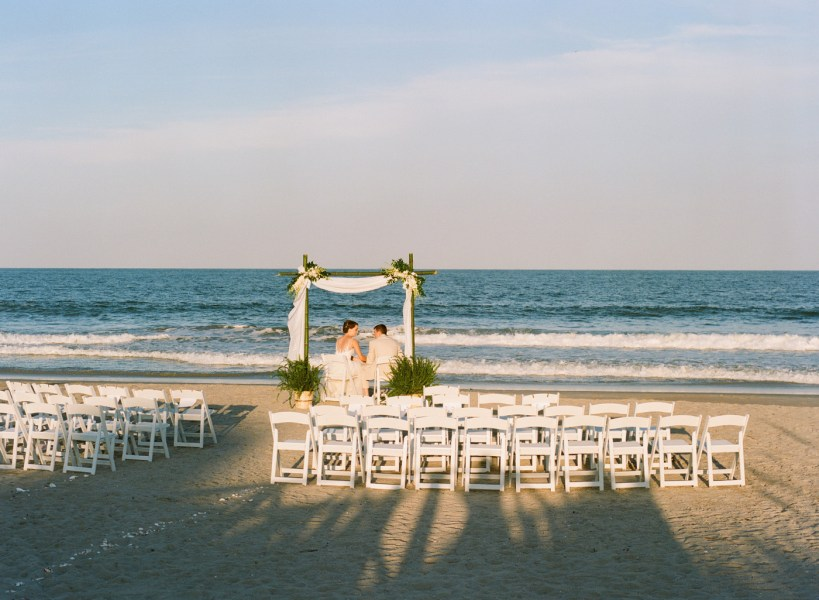 Debordieu wedding on the beach (70)